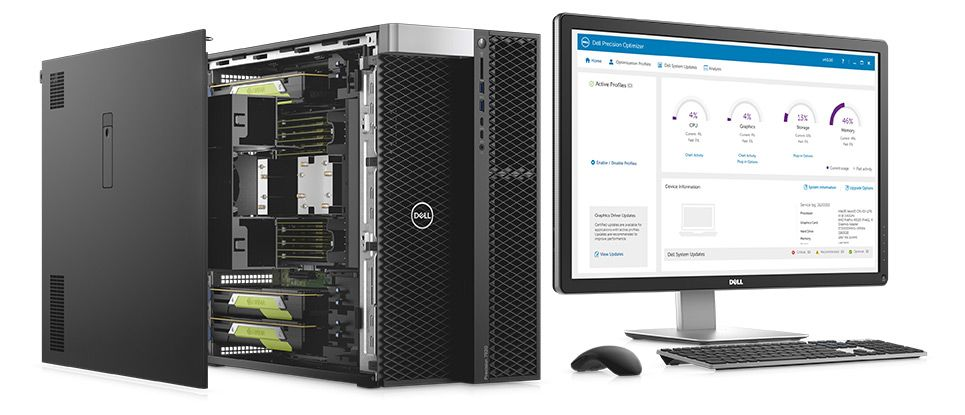 Dell Precision 7920 Workstation Guide to a Powerful Rack With 2U Form Factor Design